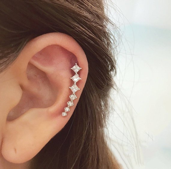 9db656151 Cartilage Earrings - Cartilage Earring